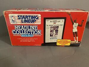 1992 KENNER NBA STARTING LINEUP HEADLINE COLLECTION DAVID ROBINSON FIGURE NBA