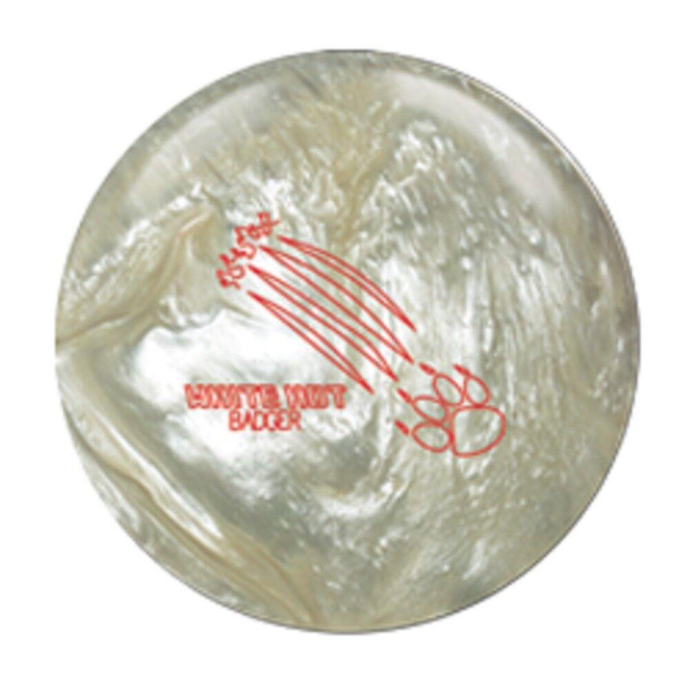 15lb 900 Global WHITE HOT BADGER Pearl Reactive Bowling Ball