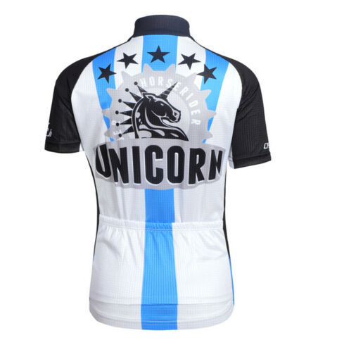 CHEJI Unicorn Children Cycling Wear Set Bike Bicycle Jersey /& Shorts Kit Blue