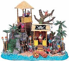 Lemax 84764 PIRATES' HIDEOUT Spooky Town Table Accent Musical Halloween Decor I