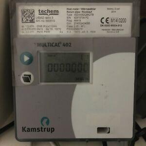 Ultraschall-Wärmezähler Qn 1,5 2,5 Kamstrup Multical 402 Techem USWZ radio 2014