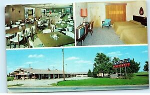 1960s Royal Motel And Restaurant St Joseph Michigan Mi Vintage