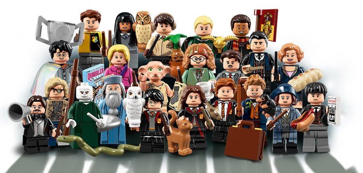 Harry Potter Fantastic Beasts Lego 71022 Full Complete Set 22 minifigures Sealed