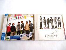 NEWS Pacific +2 & Color +1 JAPAN CD x 2 w/OBI Yamashita Tomohisa Tegomass