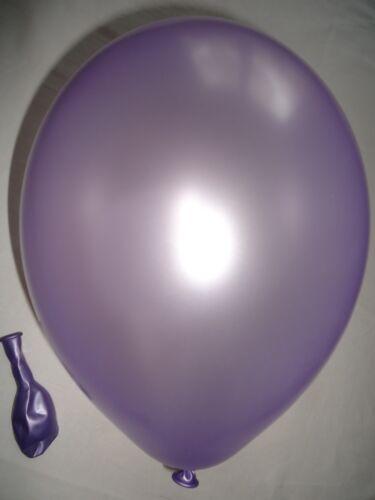 100 Luftballons metallic Farben Ballons Freie Farbwahl EU Ware Qualitätsballons