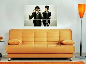 TEGAN-AND-SARA-HUGE-35-X25-INCH-MOSAIC-WALL-POSTER-N2-QUIN