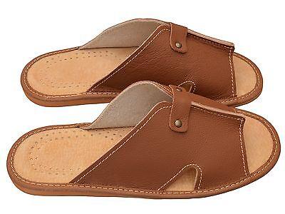 Herren Hausschuhe - Größe 40-46 - Echtleder - Latschen,Pantoffeln - XC 53