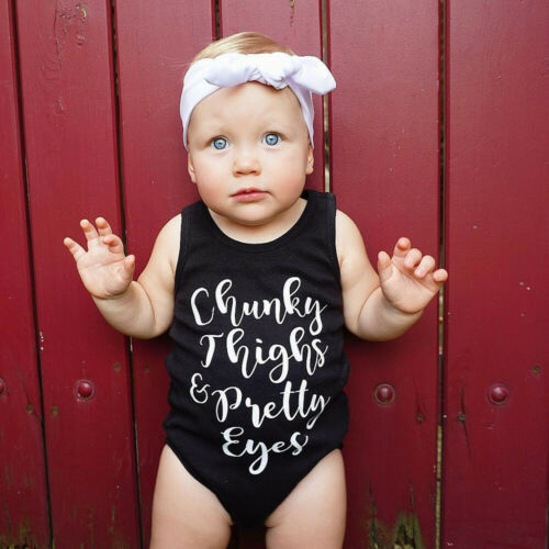 Newborn Baby Girl Lace Floral Romper Bodysuit Sleeeless Clothes Outfits Summer U
