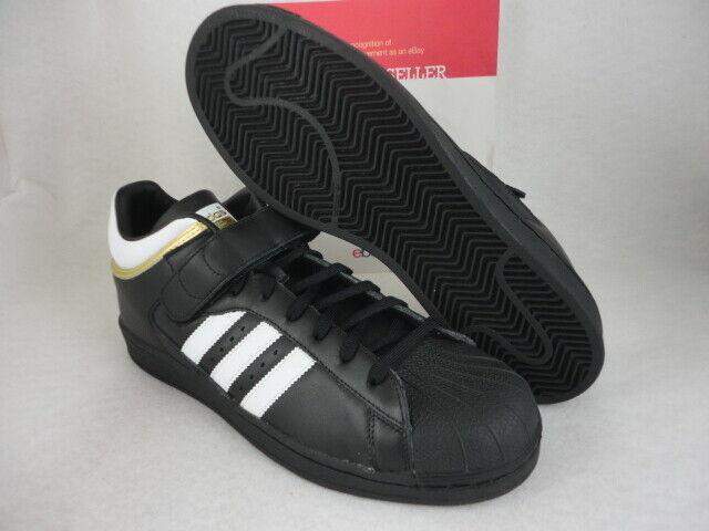 Adidas Pro Shell, Black   White   Metallic Metallic Metallic gold, Size 11.5 79ff51