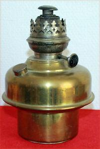 Lampe A Petrole Ancienne En Cuivre A Mecanisme Messidor 15 Ebay