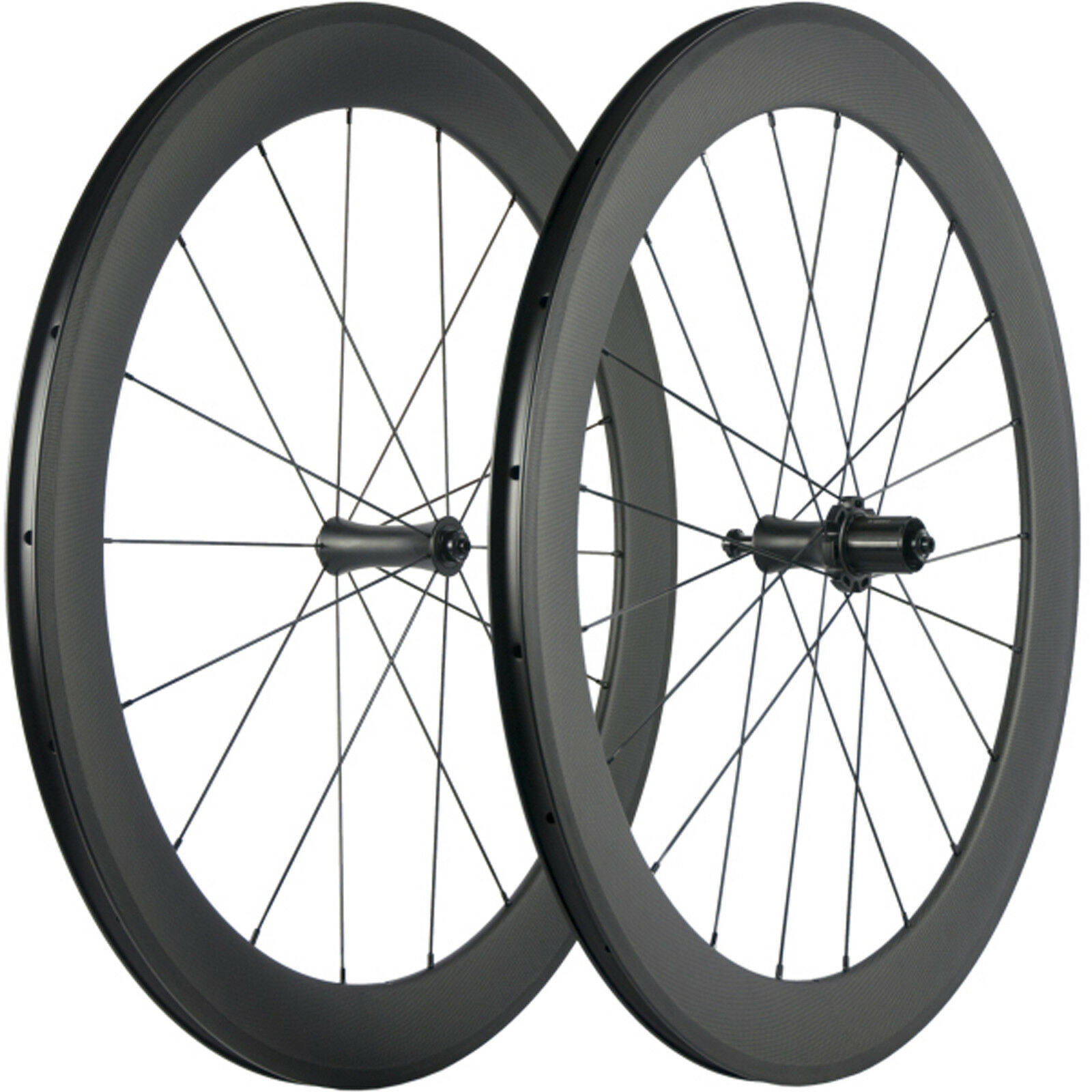 Carbon Wheelset 700C Road  Bike Wheels 60mm Clincher Bicycle Wheelset R7 Hub  great offers