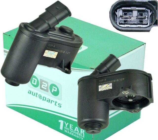 FIT AUDI A6 C6 2005-11 REAR ELECTRONIC BRAKE CALIPER MOTOR 6 TOOTH 4F0998281B