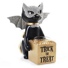 Yankee Candle Halloween SOPHIA Black Cat Trick Or Treat Votive Tealight Holder !