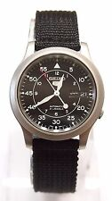 SEIKO 5 SNK809 Military Style Automatic Men's Black Watch SNK809K2 Brand New !!