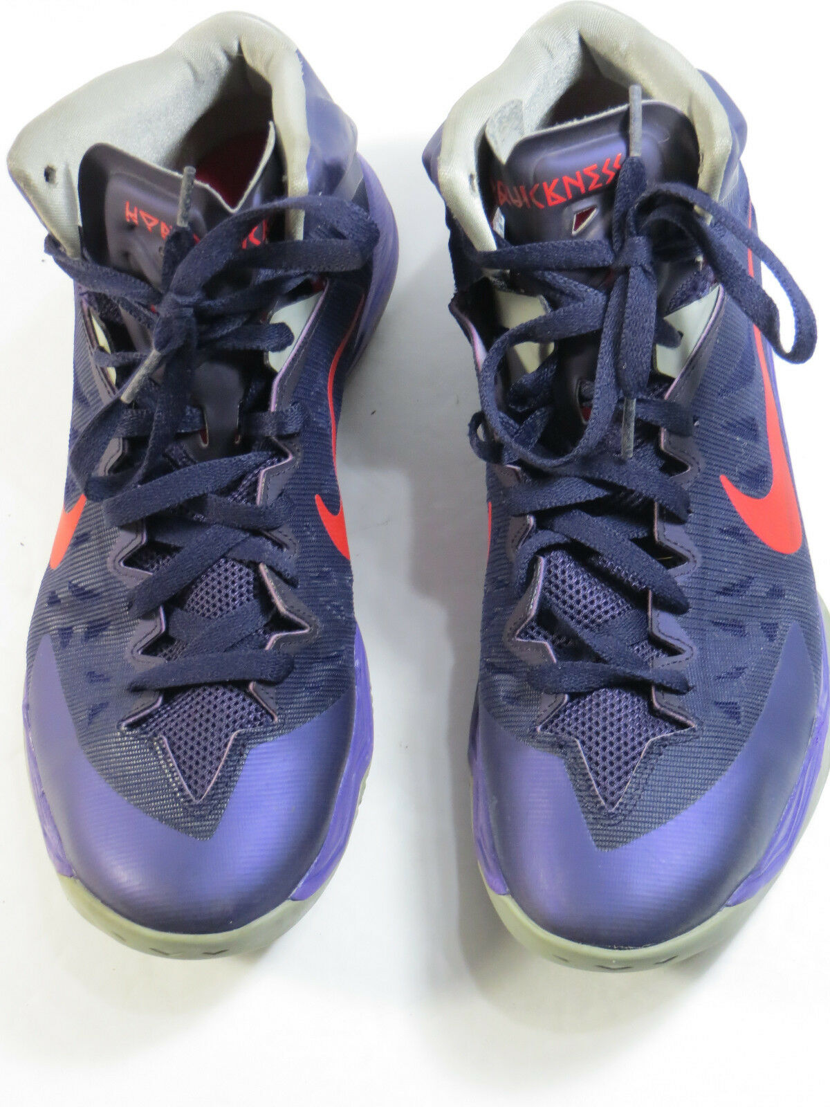 cheap for discount 332fe a1f30 Ex cond Men s NIKE Purple Basketball shoes 599519500-size 11.5 M Zoom  onmsfc5448-Athletic Shoes