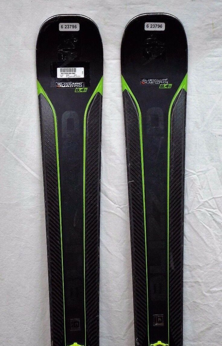 16-17 Blizzard Quattro 8.4Ti Used Men's Demo Skis w  Binding Size 174cm