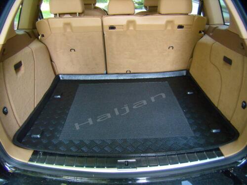 Kofferraumwanne mit Anti-Rutsch für Kia Venga ab 2010 bis heute tiefer Boden