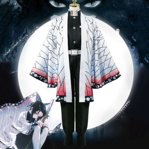 Anime Kimetsu No Yaiba Cosplay Costumes Shinobu Kocho Cosplay Costume Halloween