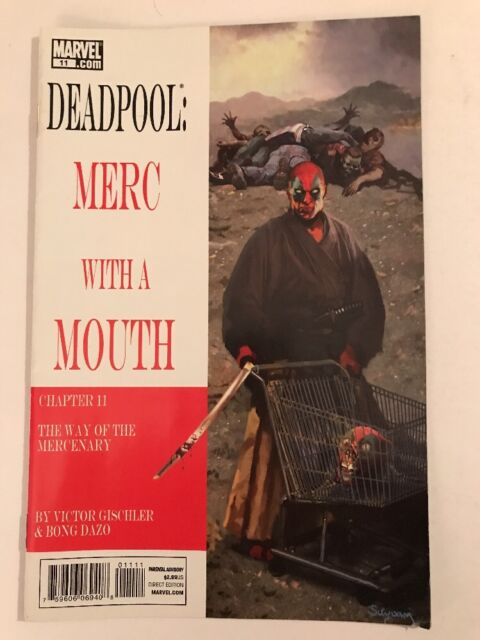 Deadpool: Merc with a Mouth #11 (July 2010, Marvel)