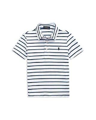 10-12 Little Kid Size-M Polo Ralph Lauren Boys/' Splatter Logo Sweatshirt