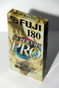 Video-Kassette-Leerkassette-Fuji-FUJIFILM-Super-VHS-Pro-SE-180-S-VHS