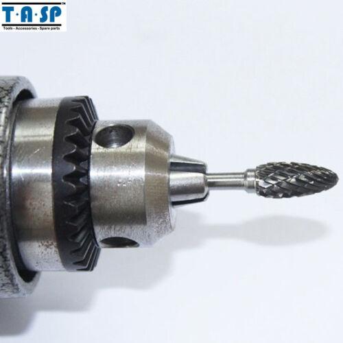 10PC pour Dremel bavures Set Tungsten Carbide Engraving Milling Cutter Rotatif