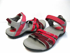 TEVA TIRRA RED GARDIENT WOMEN SANDALS US 6 /UK 4 /EU 37 /JP 23