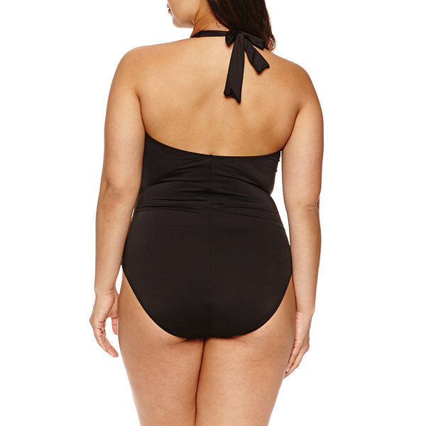 Liz Claiborne Claiborne Claiborne One Piece Swimsuit Plus Size 16W, 18W, 20W, 22W New Msrp  99.00 30cbff