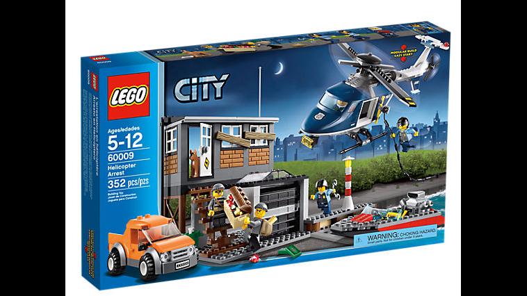 nelle promozioni dello stadio Lego 60009 60009 60009 città Helicopter Arrest nuovo  Retirosso  vendita outlet