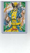 2011 MARVEL COMICS AVENGERS SKETCH CARD WOLVERINE RAINIER LAGUNSAO