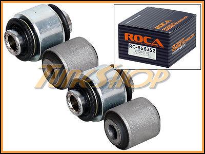 ROCA 01-05 LEXUS IS300 REAR L&R HUB KNUCKLE BUSHING KIT OE OEM STOCK 4 PCS