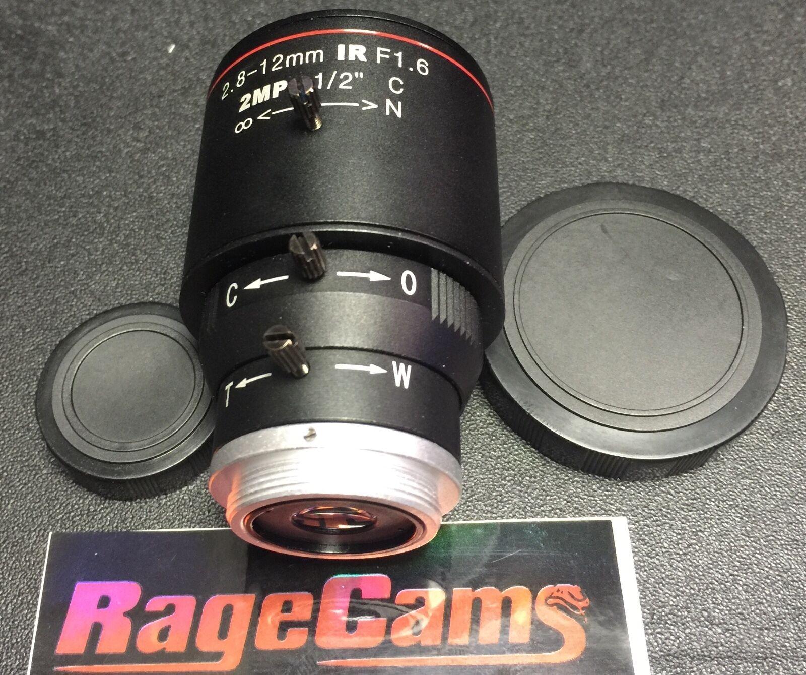 1//1.8 Mega Pixel C Mount Lens 6mm For BASLER FLEA WATEC BOLEX 16MM MOVIE CAMERA