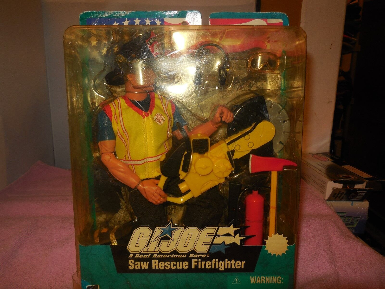 2003 G. I. Joe Scie Rescue Pompier