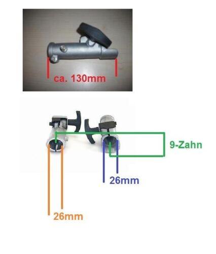 26mm 9 diente combi embrague acoplamiento rápido un soldador Motorsense motorbesen