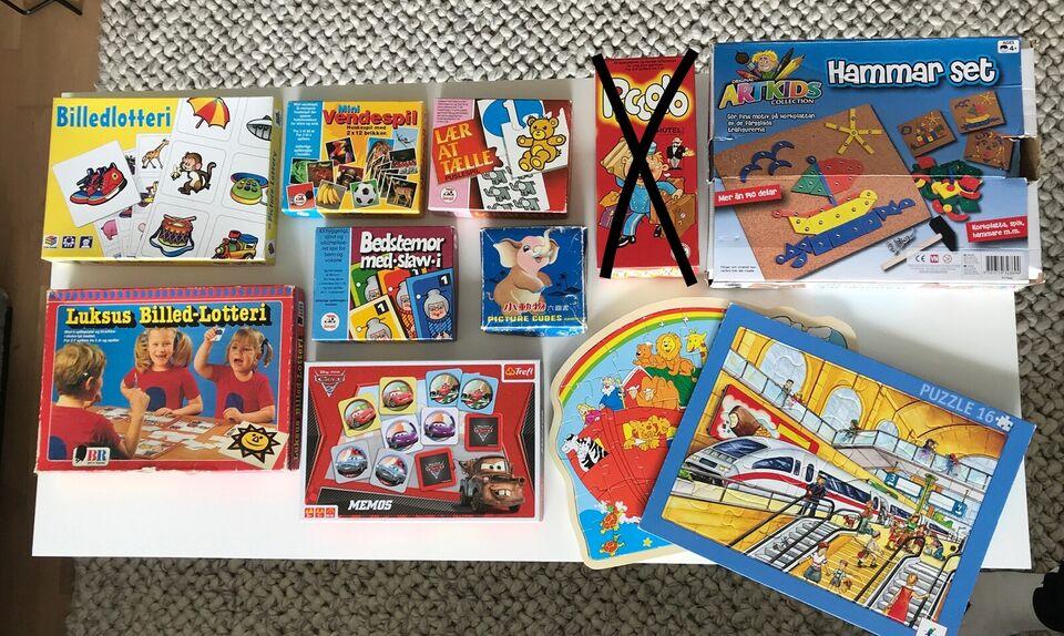 Blandede, Børnespil, brætspil