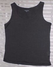 Eileen Fisher Petite Silk Blend Tank top Size-PS Gray Excellent condition