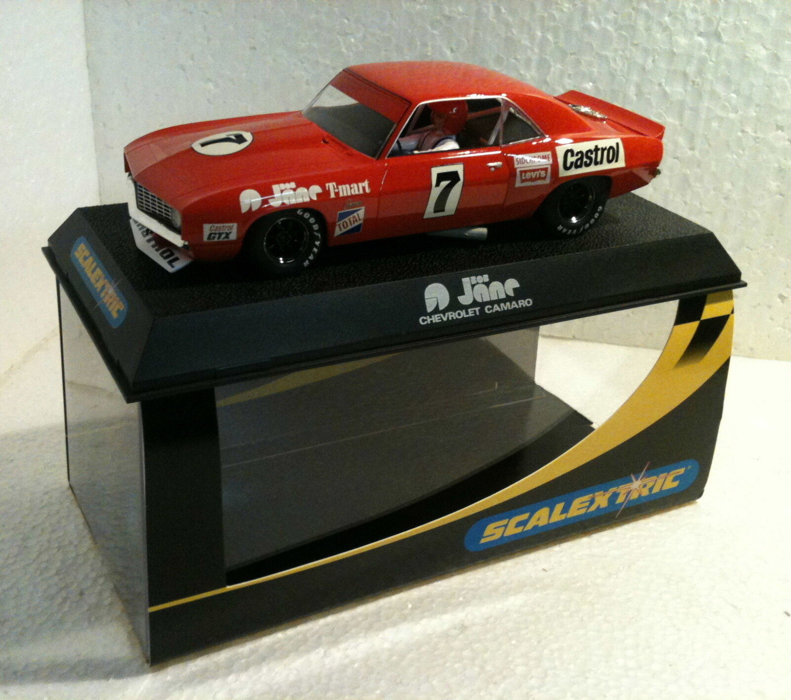 Felices compras qq C 2413 SCALEXTRIC CHEVROLET CHEVROLET CHEVROLET CAMARO BOB JANE No7 T-MARS LTED ED 1500 units  mejor moda