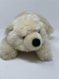 AURORA-Plush-Busch-Gardens-Exclusive-Cream-Polar-Bear-13-034-Stuffed-Animal-Toy