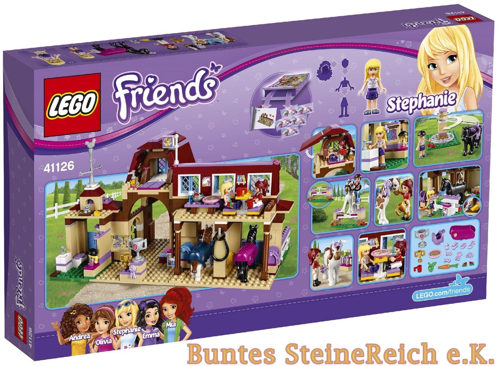 LEGO® Friends : 41126 & Heartlake Reiterhof & 0.-€Versand & 41126 OVP & NEU 862630