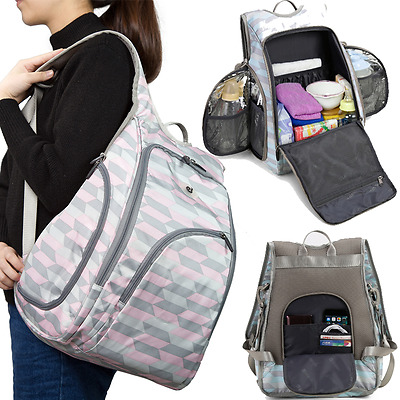 Baby Diaper Backpack Bag Maternity Mother Bag Men Women Styles Nappy Changing HQ