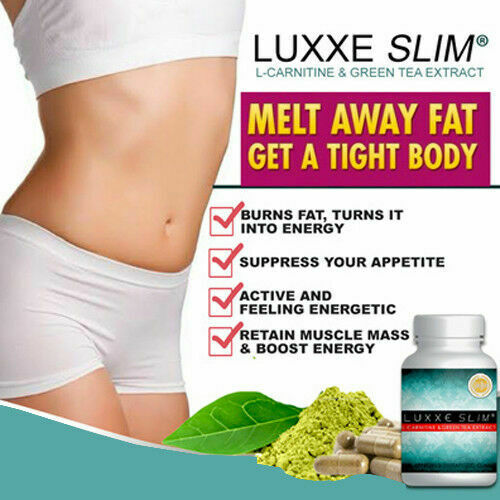 LUXXE-SLIM-L-CARNITINE-amp-GREEN-TEA-EXTRACT-FOR-WEIGHT-LOSS-60-CAPS-MADE-IN-AUSTR