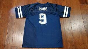 Details about Blue Dallas Cowboys #9 Tony Romo NFL Football Jersey Youth XL Cowboys Apparel