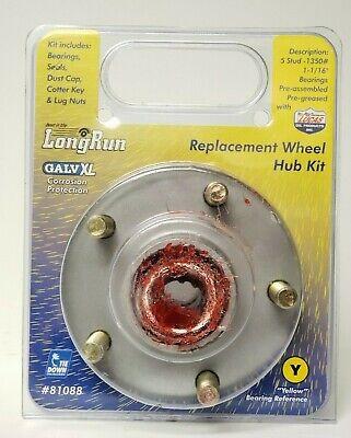 HUB 1350# KIT TIE 81088 NEW TIEDOWN ENGINEERING 5 STUD GALV