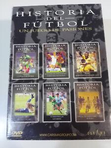 HISTORIA-DEL-FUTBOL-COLECCION-CAJA-CON-6-X-DVD-BRASIL-ORIGENES-UNICA