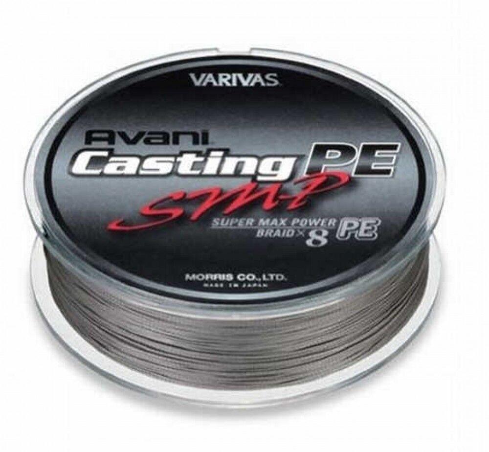 Varivas Avani casting Polietileno SMP 500m  4 70lb gris sigilo de Japón con seguimiento