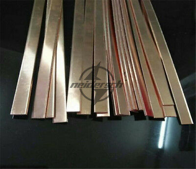 1pcs 99/% Copper Copper Strip T2 Cu Metal Bar Plate 4mm x 40mm x 250mm DIY CNC