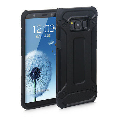 For Samsung Galaxy S8 / S8 Plus Dual Layer Shockproof Armour Tough Case Cover