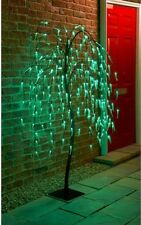 New Solar Powered Weeping Willow Tree 5ft Garden Patio