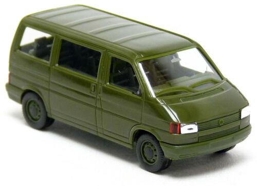 Herpa Maag 700375 Volkswagen VW T4 Bus grün Bundeswehr Militär BW MTW 1:87 H0