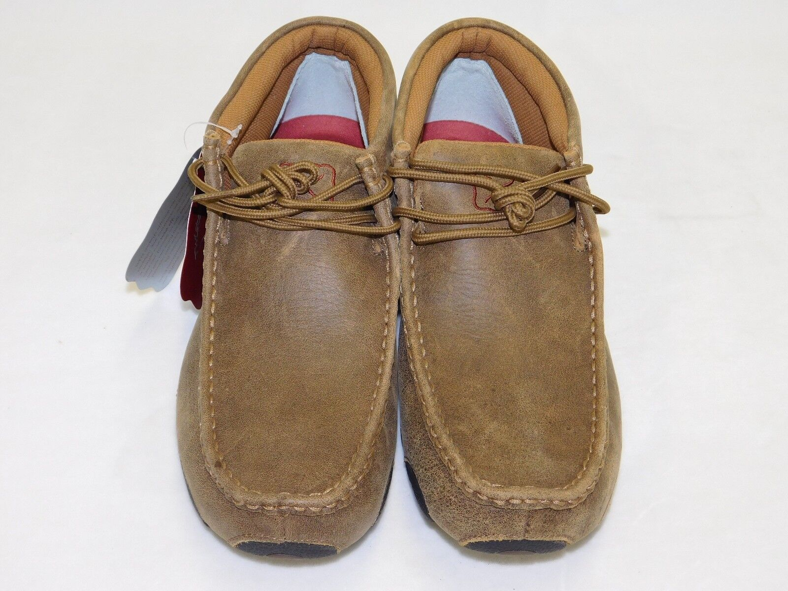 45db44a7fc337 Men s Twisted X Driving Mocs-Bomber Brown Brown Brown MDM0003 56dee8 ...